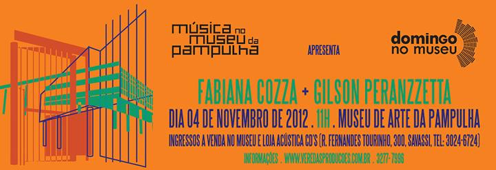 Domingo no Museu – Fabiana Cozza e Gilson Peranzzetta