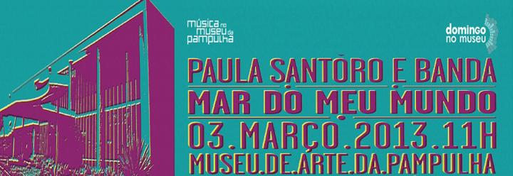 "Paula Santoro apresenta ""Mar do meu Mundo"""